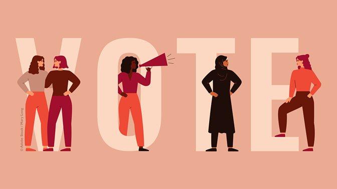 Themenschwerpunkt 50 Jahre Frauenstimmrecht in der Schweiz